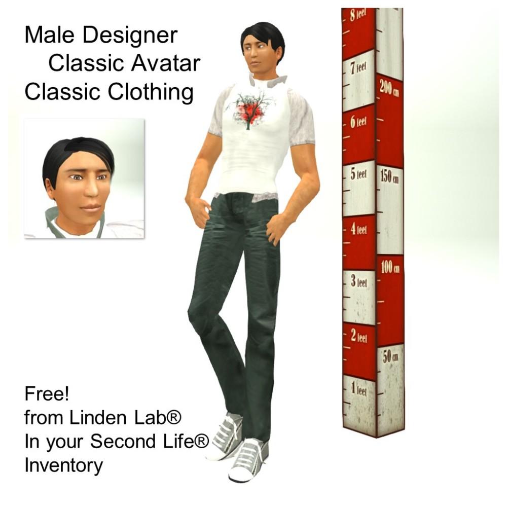 LL Avatar - Male - Male Designer