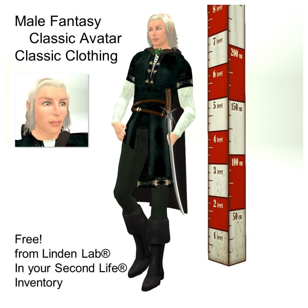 LL Avatar - Male - Male Fantasy