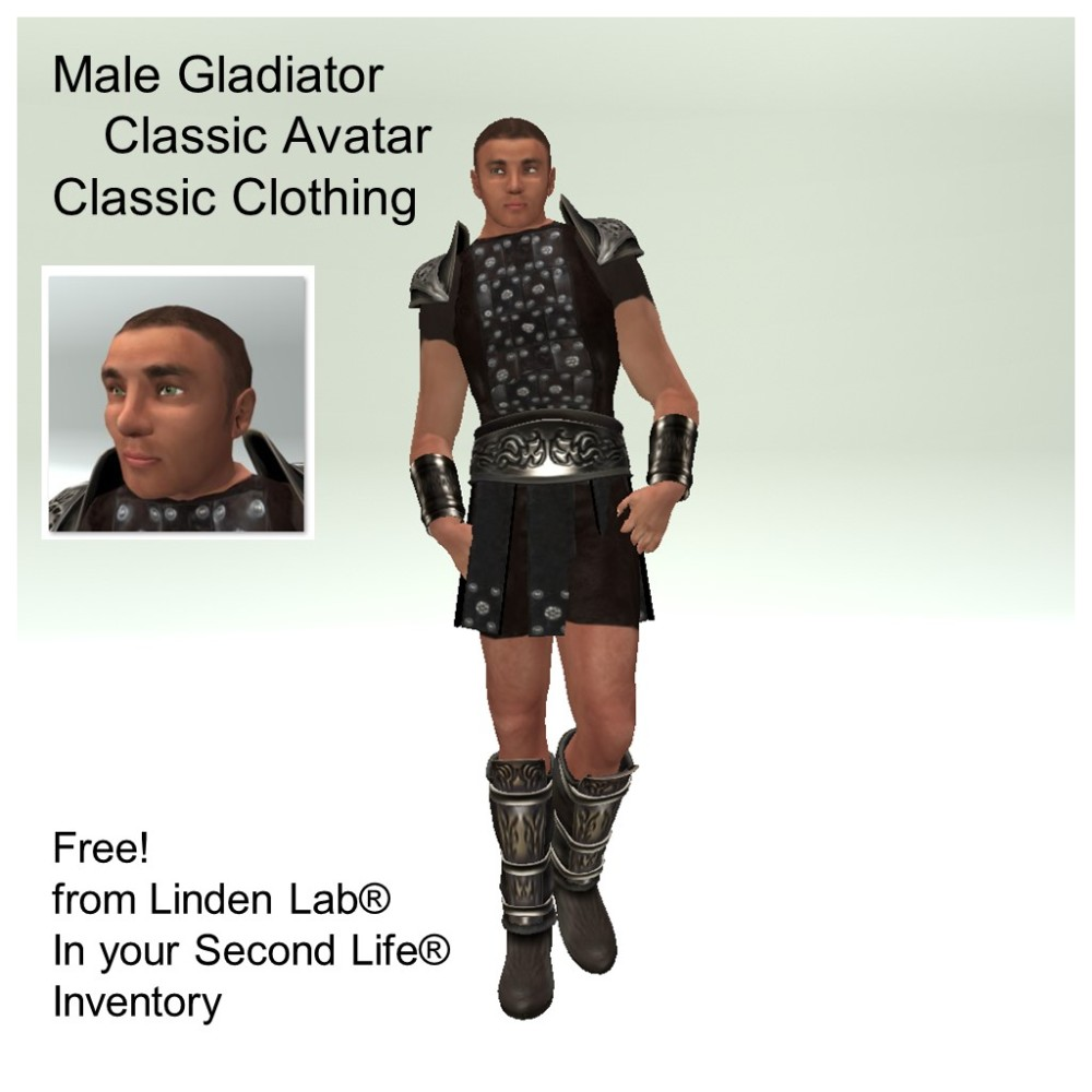LL Avatar - Male - Male Gladiator