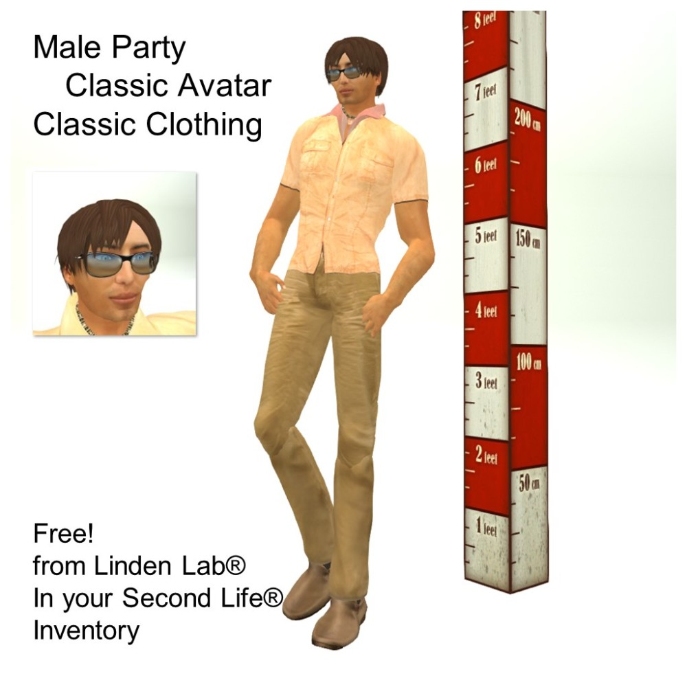 LL Avatar - Male - Male Party