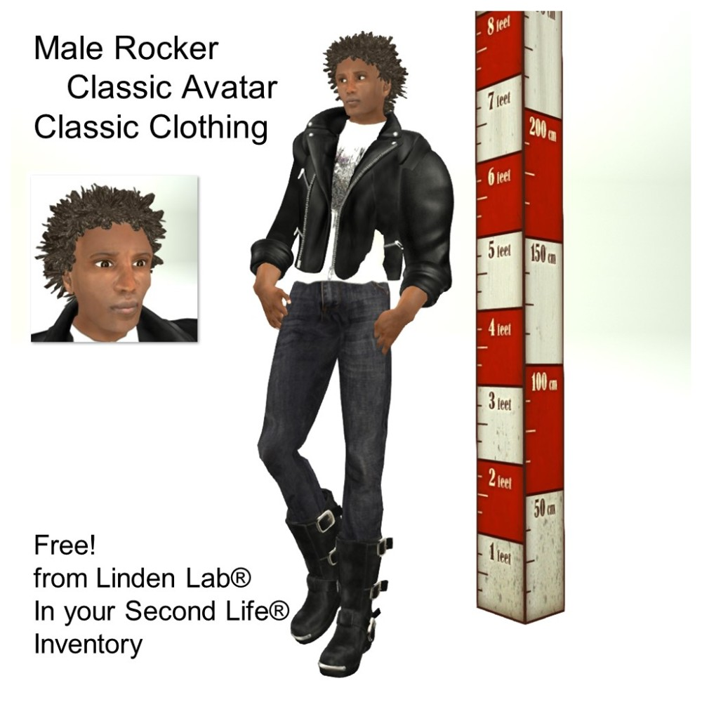 LL Avatar - Male - Male Rocker