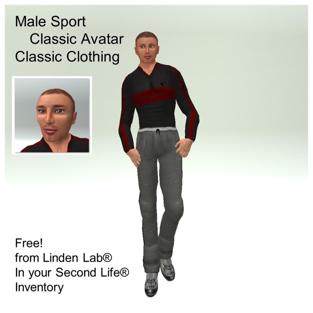 LL Avatar - Male - Male Sport