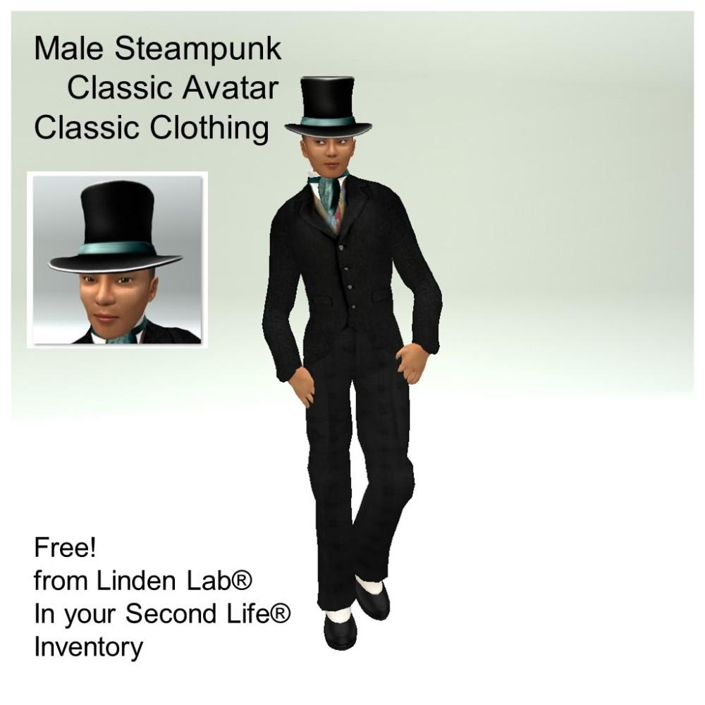 LL Avatar - Male - Male Steampunk