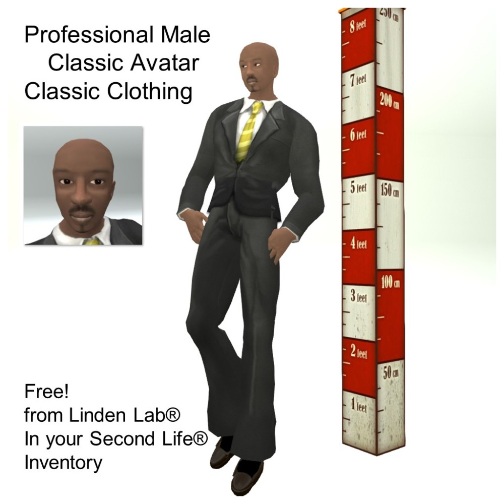 LL Avatar - Male - Professional Male