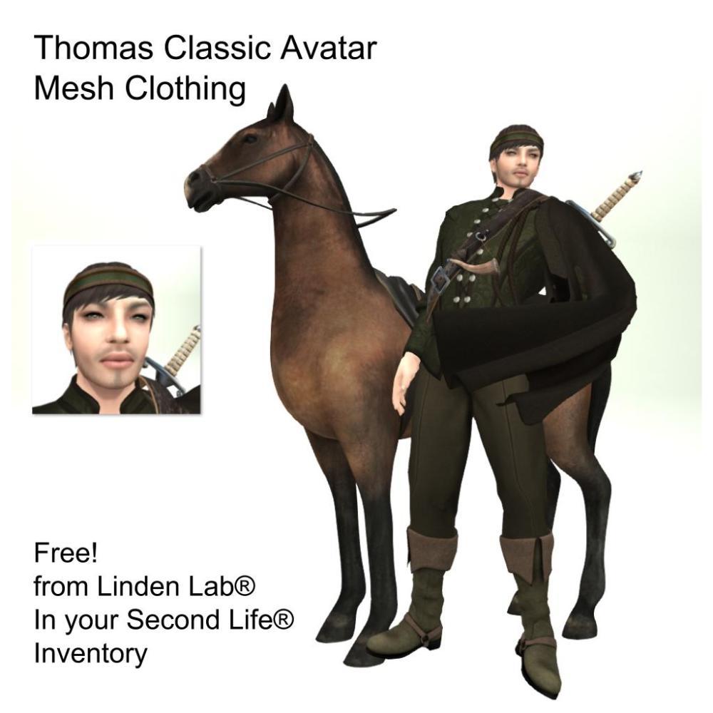 LL Avatar - Male - Thomas