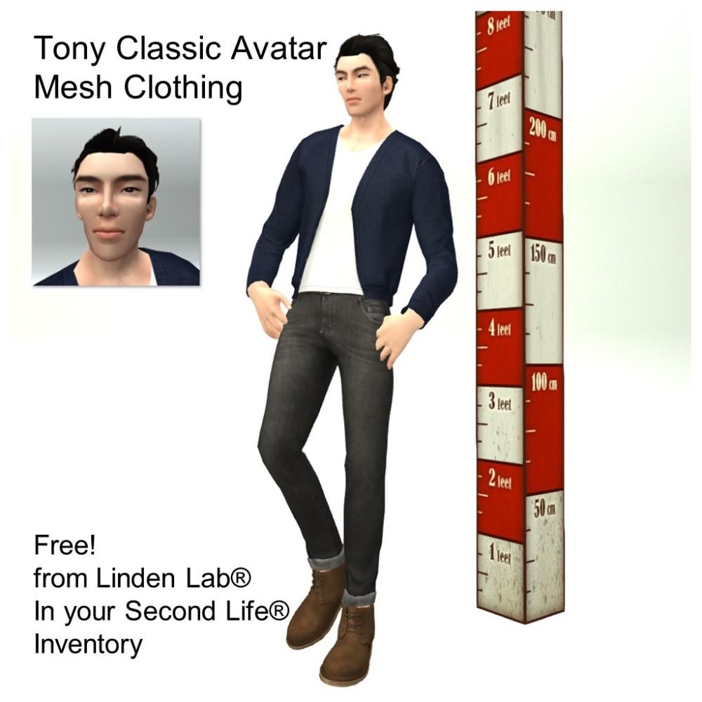 LL Avatar - Male - Tony