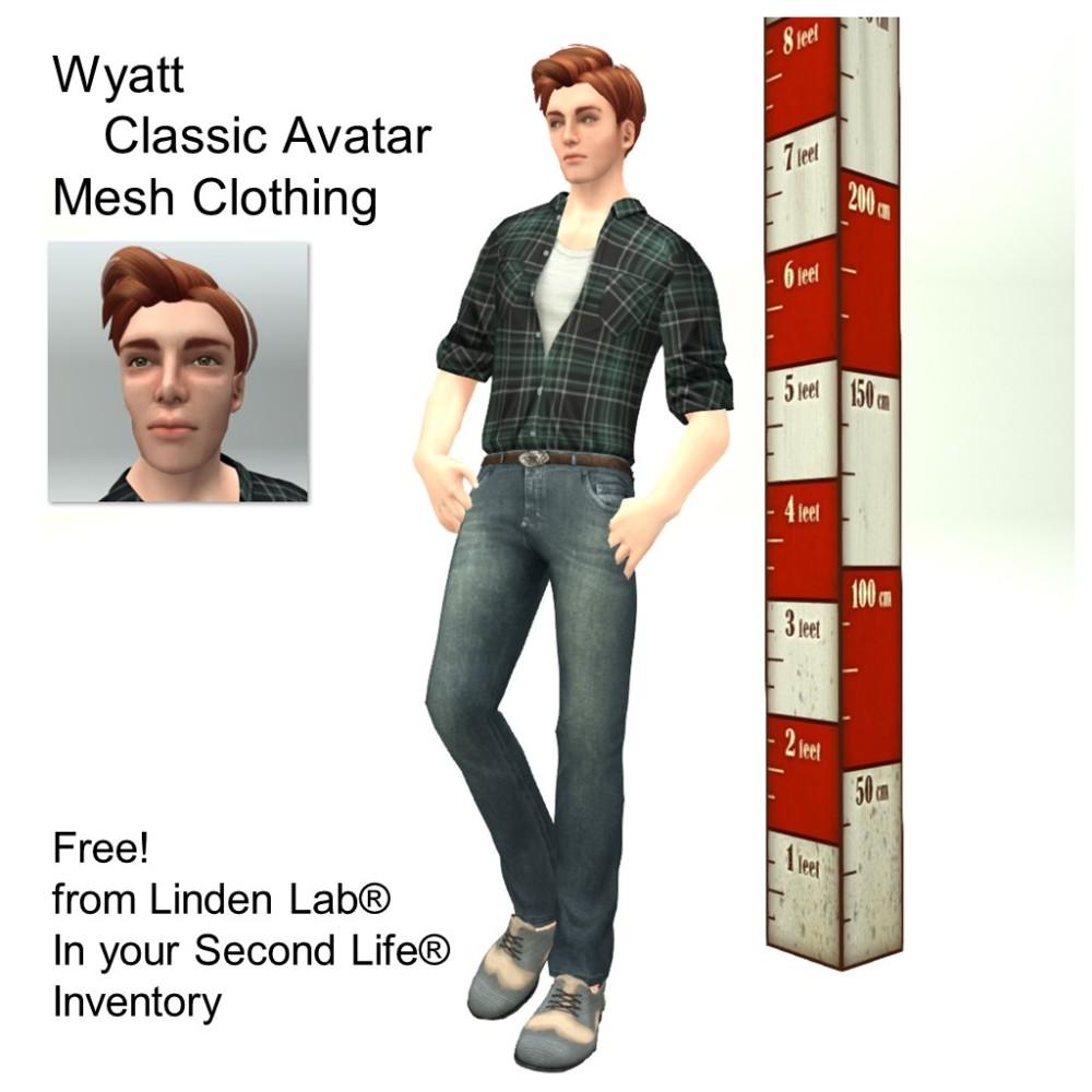 LL Avatar - Male - Wyatt