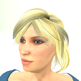 LL Avatar Mesh - Female - Sara