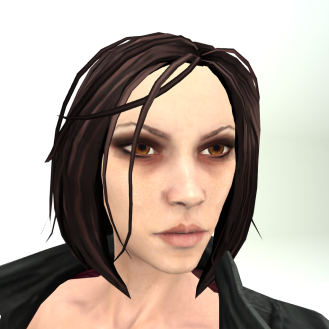 LL Avatar Mesh - Female - Vampire Hunter Alison