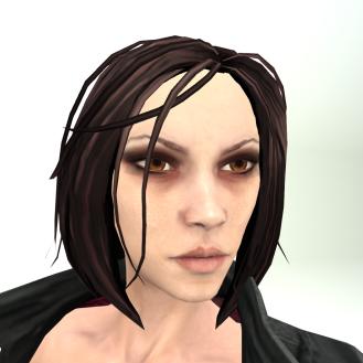LL Avatar Mesh - Female - Vampire Hunter Alison