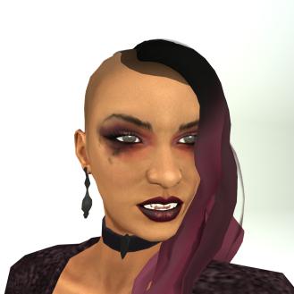 LL Avatar Mesh - Female - Vampire Vanessa