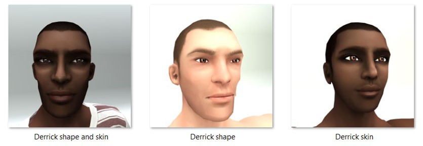LL Faces - Male - Derrick