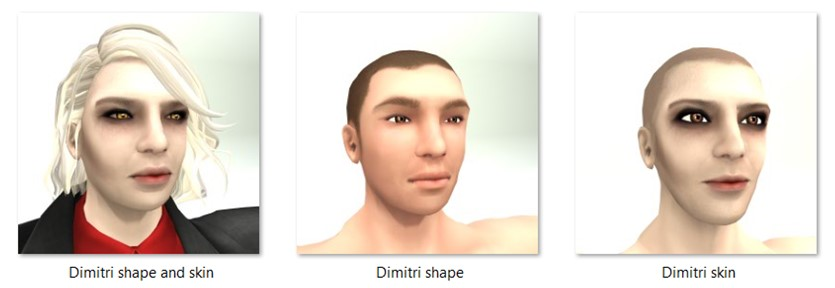 LL Faces - Male - Dimitri