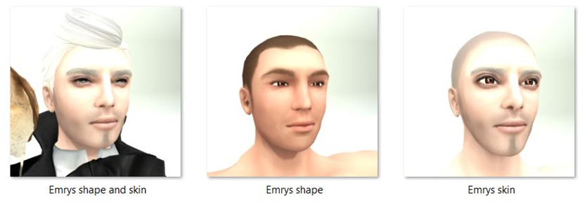LL Faces - Male - Emrys