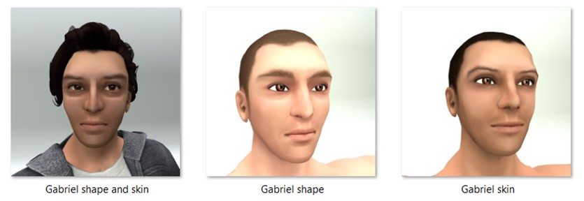 LL Faces - Male - Gabriel