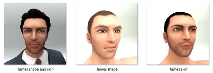 LL Faces - Male - James