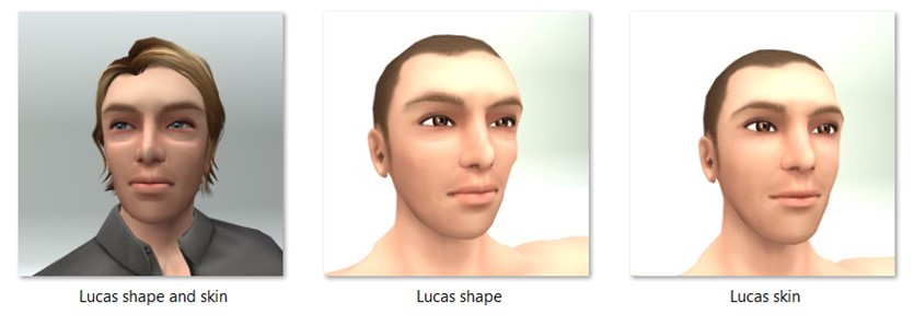 LL Faces - Male - Lucas