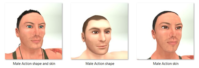 LL Faces - Male - Male Action