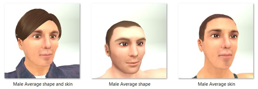 LL Faces - Male - Male Average