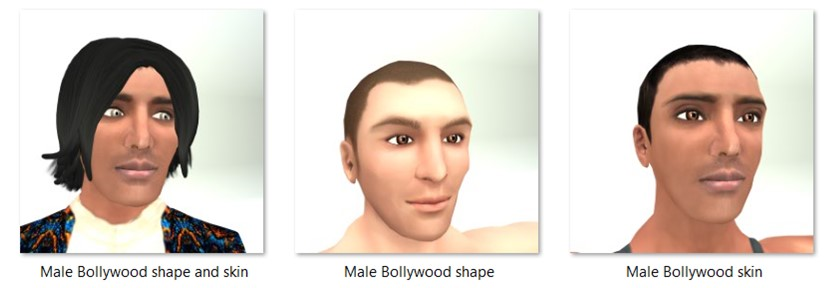 LL Faces - Male - Male Bollywood