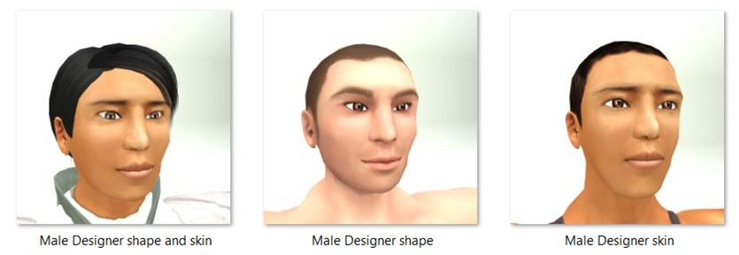 LL Faces - Male - Male Designer