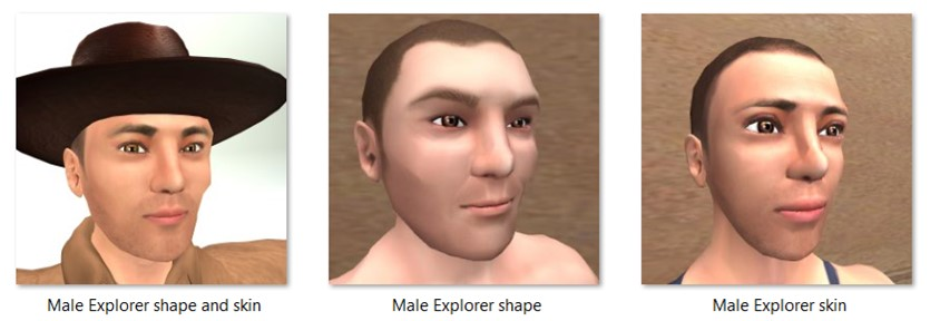 LL Faces - Male - Male Explorer