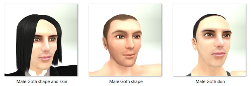 LL Faces - Male - Male Goth
