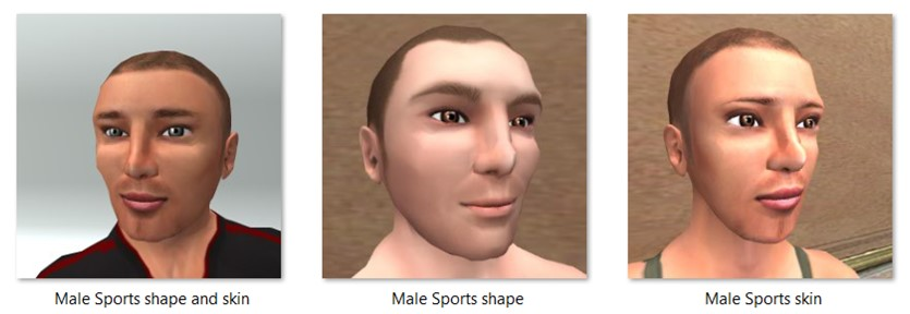 LL Faces - Male - Male Sports
