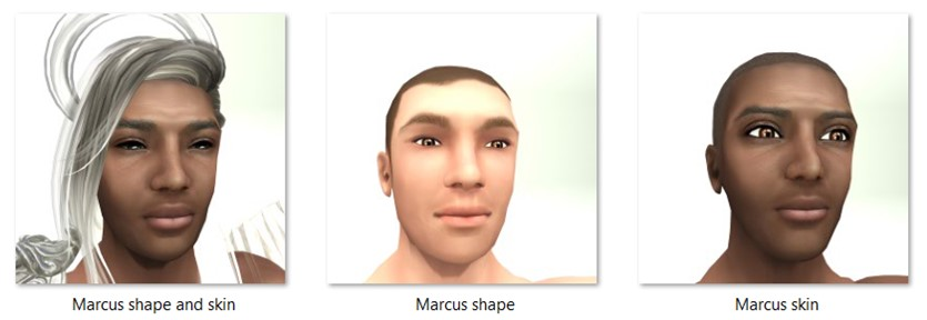 LL Faces - Male - Marcus