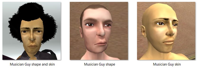 LL Faces - Male - Musician Guy