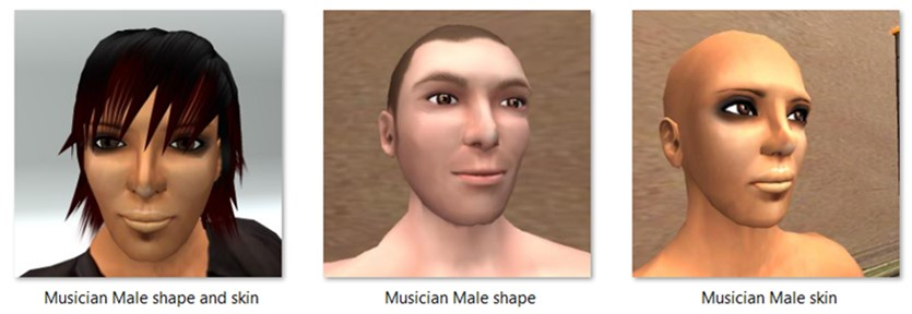 LL Faces - Male - Musician Male
