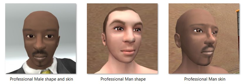 LL Faces - Male - Professional Man