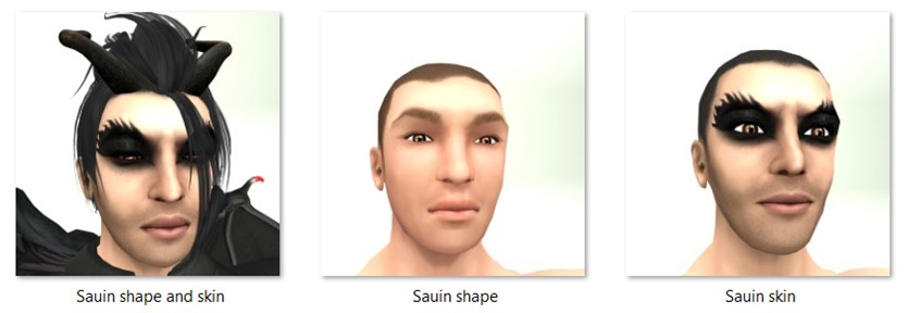 LL Faces - Male - Sauin
