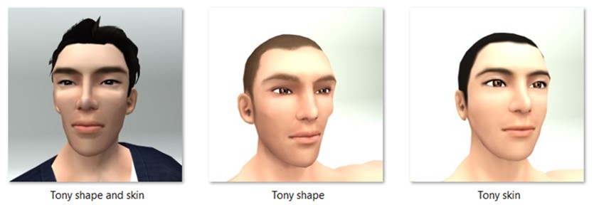 LL Faces - Male - Tony