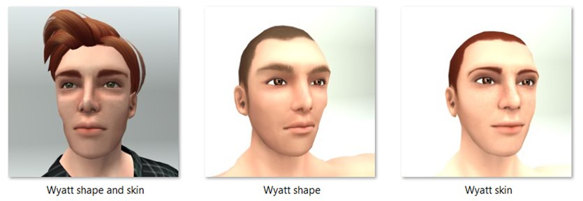 LL Faces - Male - Wyatt